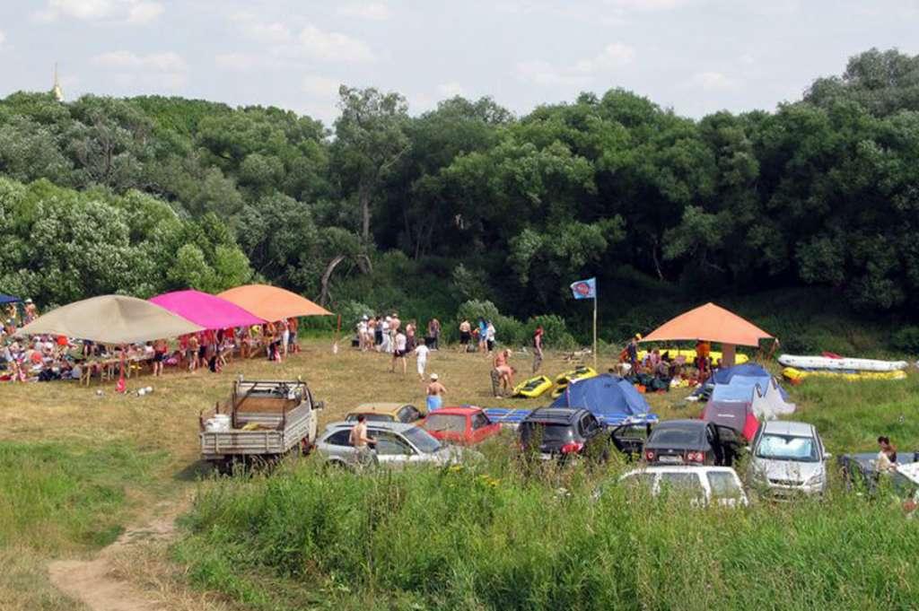 Отдых с палатками в Подмосковье 2017