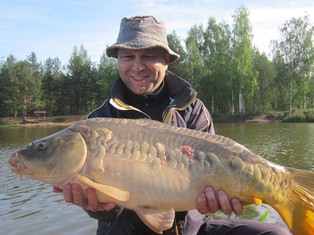 рыбалка дятлово пруд 1