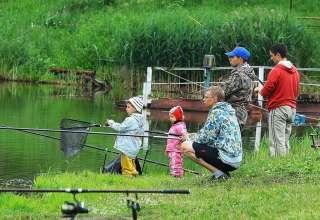 Рыбалка в Клинском рыбхозе