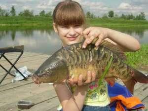 Рыбалка в Михайловской слободе