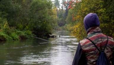 Рыбалка на реке Воря Московской области
