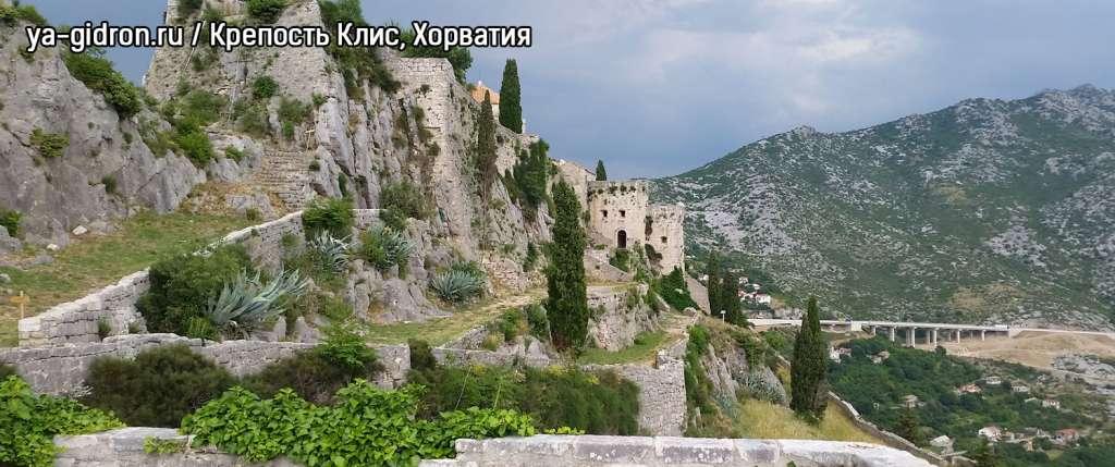 Крепость Клис, Хорватия
